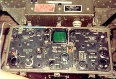 AN/TPS-25 radar console.