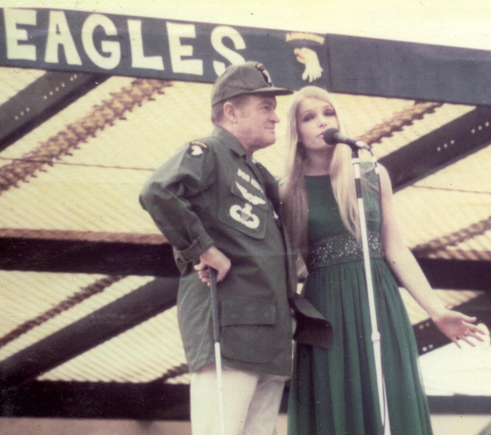 Bob Hope USO Show at Cu Chi, 1969