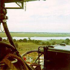 View looking west, Go Dau Ha.
